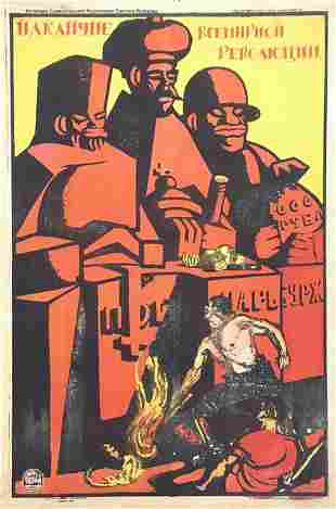 MOOR, D. On the eve of the all-world revolution. 1920
