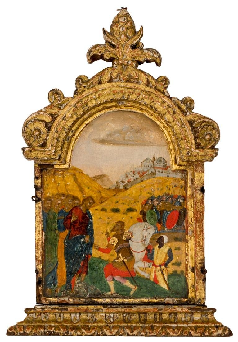 *Christ and the Centurio of Capernaum Italy-Cretan