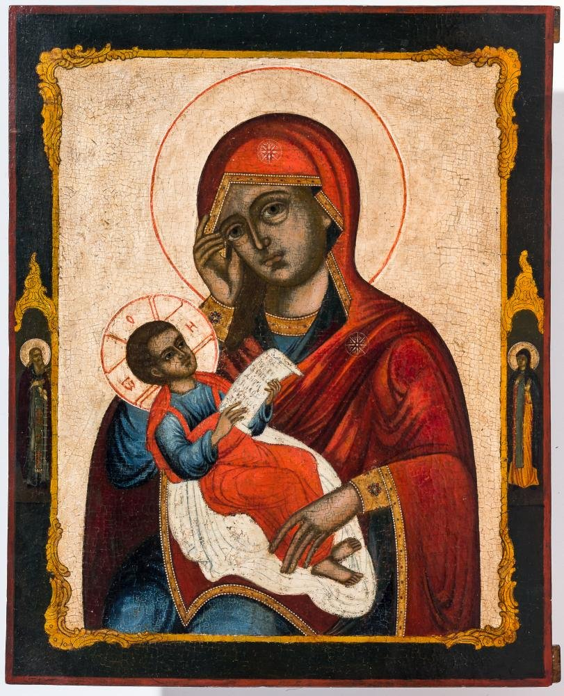 Large icon of the Mother of God Soothe My Sorrows