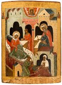 Museum Icon of the Nativity of St. John the Baptist