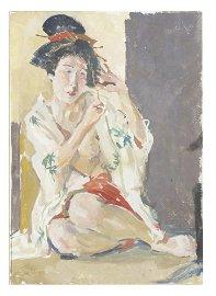 Roland Strasser (1895-1974), Geisha
