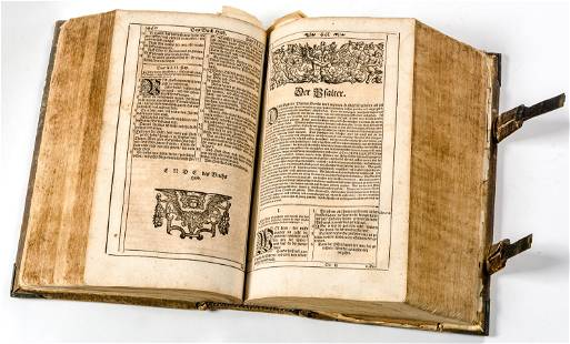 HOLY BIBLE Basel Emanuel Knig and sons 1680