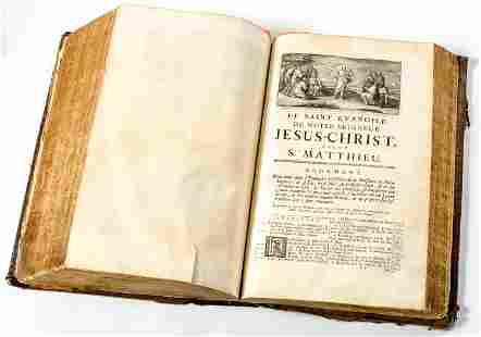 LA SAINTE BIBLE Neufchatel Imprimerie Boyve et