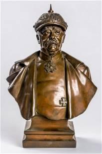Harro MAGNUSSEN 18611908 Bust of Bismarck