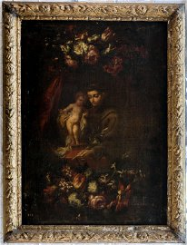 UNKNOWN ARTIST, St. Anthony of Padua, Oil on