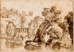 Claude LE LORRAIN (1600-1682), Circle or