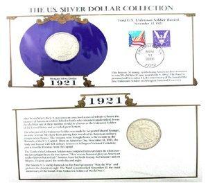 3001: 1921 U. S.   Morgan Silver Dollar