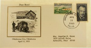 3002: Commemorative Stamp With Postmark