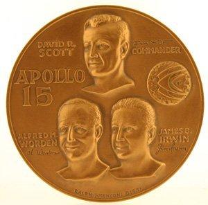 3003: Apollo 15 Commemorative Coin