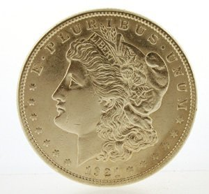 3004: 1921 Silver Dollar