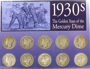 3005: 1930s Mercury Dimes