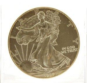 3007: 1999 Walking Liberty Silver Dollar