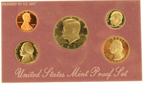 3014: 1990 U. S. Mint Proof Set