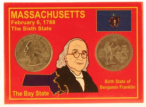 3016: Massachusetts Statehood Quarters