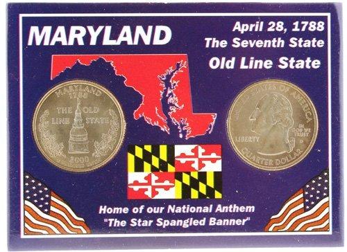 3017: Maryland Statehood Quarters