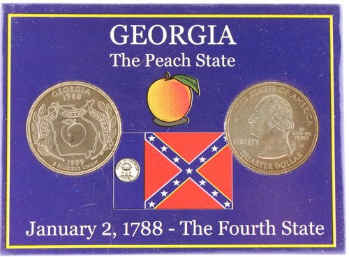3018: Georgia Statehood Quarters