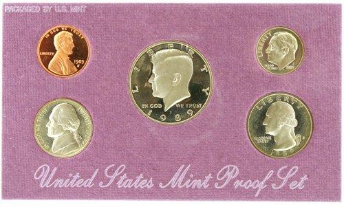 3020: 1989 U. S. Mint Proof Set