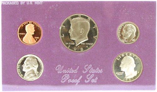 3022: 1987 U. S. Mint Proof Set