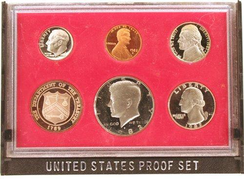 3023: 1982 U. S. Mint Proof Set