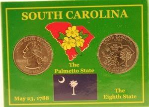 3079: SOUTH CAROLINA STATEHOOD QUARTERS