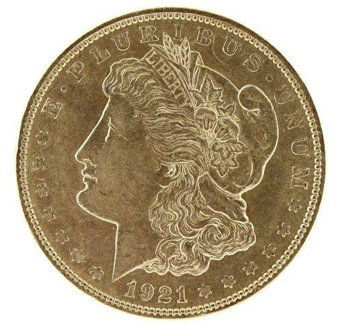 5021: 1921    Eagle Silver Dollar