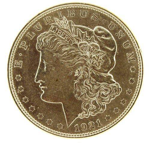 5022: 1921    Eagle Silver Dollar