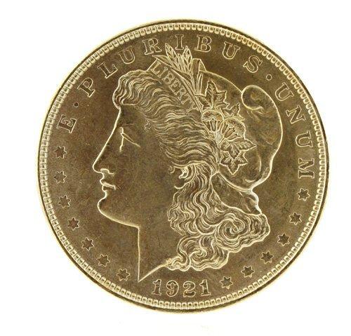 5024: 1921    Eagle Silver Dollar