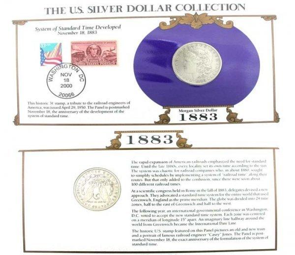 5231: 1883 U. S.   Morgan Silver Dollar