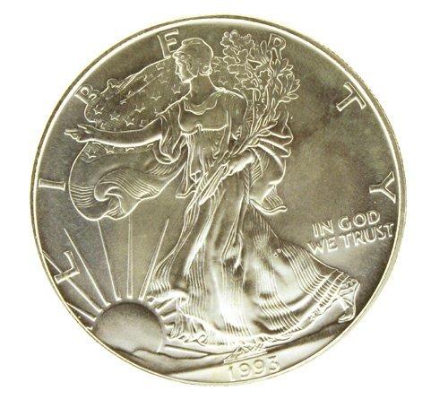 5506: AMERICAN EAGLE SILVER DOLLAR