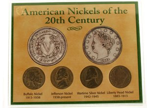 1019: American Nickels of the 20th Century