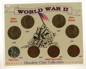 1020: World War II Obsolete Coin Collection