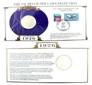 1056: 1926 U. S.   Peace Silver Dollar