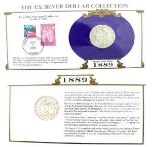 1064: 1889 U. S.   Morgan Silver Dollar