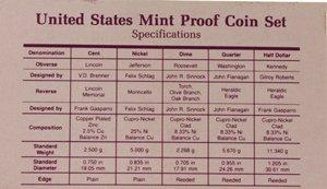 2003: 1989 U. S. Mint Proof Set - 2
