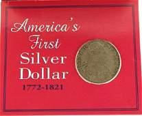 2052: 1793   Americas First Silver Dollar