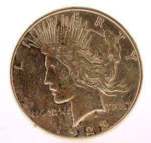 2088: 1923 Liberty Silver Dollar