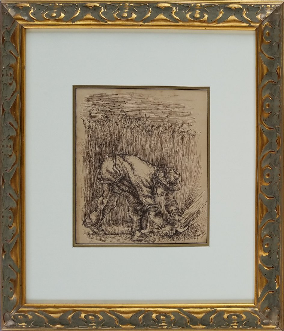 Painting: Attributed to Vincent Van Gogh (Dutch,