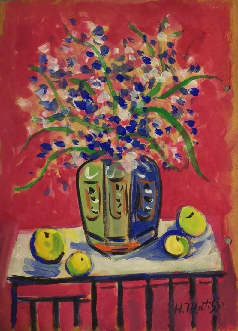 Painting: Attributed to: HENRI MATISSE (French,
