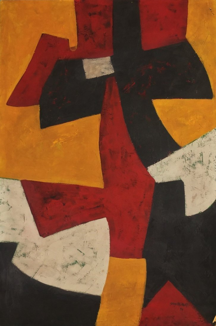 Painting: Attributed to: SERGE POLIAKOFF (Russian-born