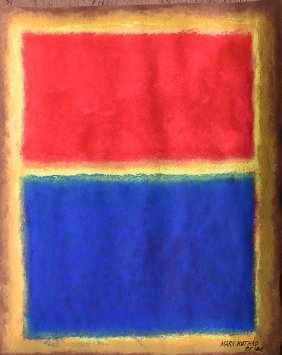 Painting: Attributed to: MARK ROTHKO (American,
