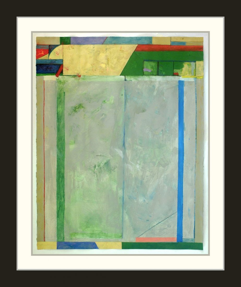 Painting: Attributed to: RICHARD DIEBENKORN (American,