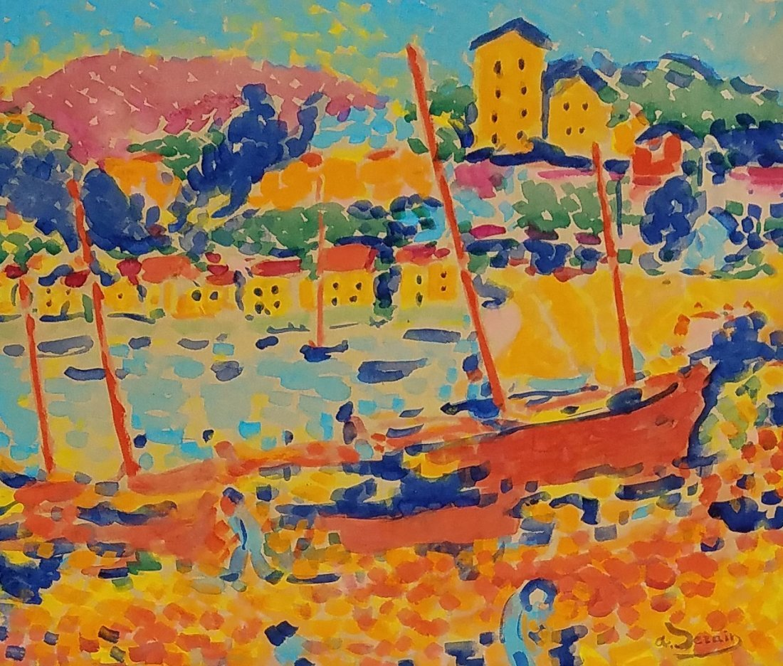Painting: Attributed to ANDRE DERAIN (French,