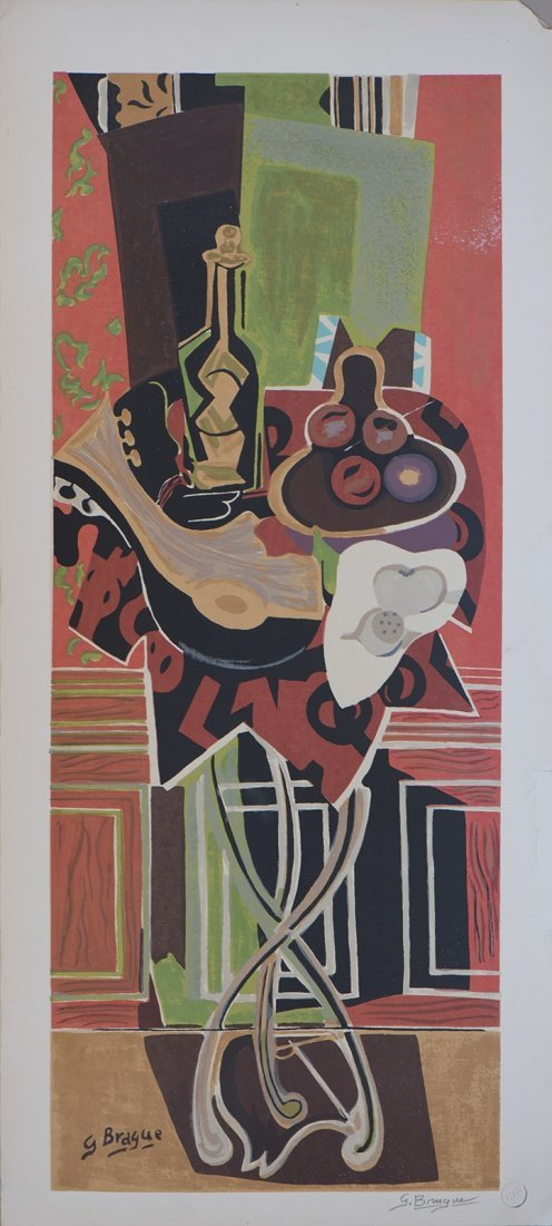 Serigraph:  GEORGES BRAQUE (French, 1882 - 1963)