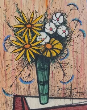 Painting: BERNARD BUFFET (attrib), French (1928-1999)