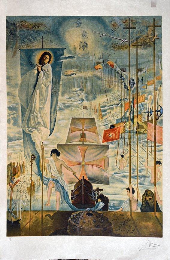 Silkscreen: SALVADOR DALI (Spanish, 1904 - 1989)