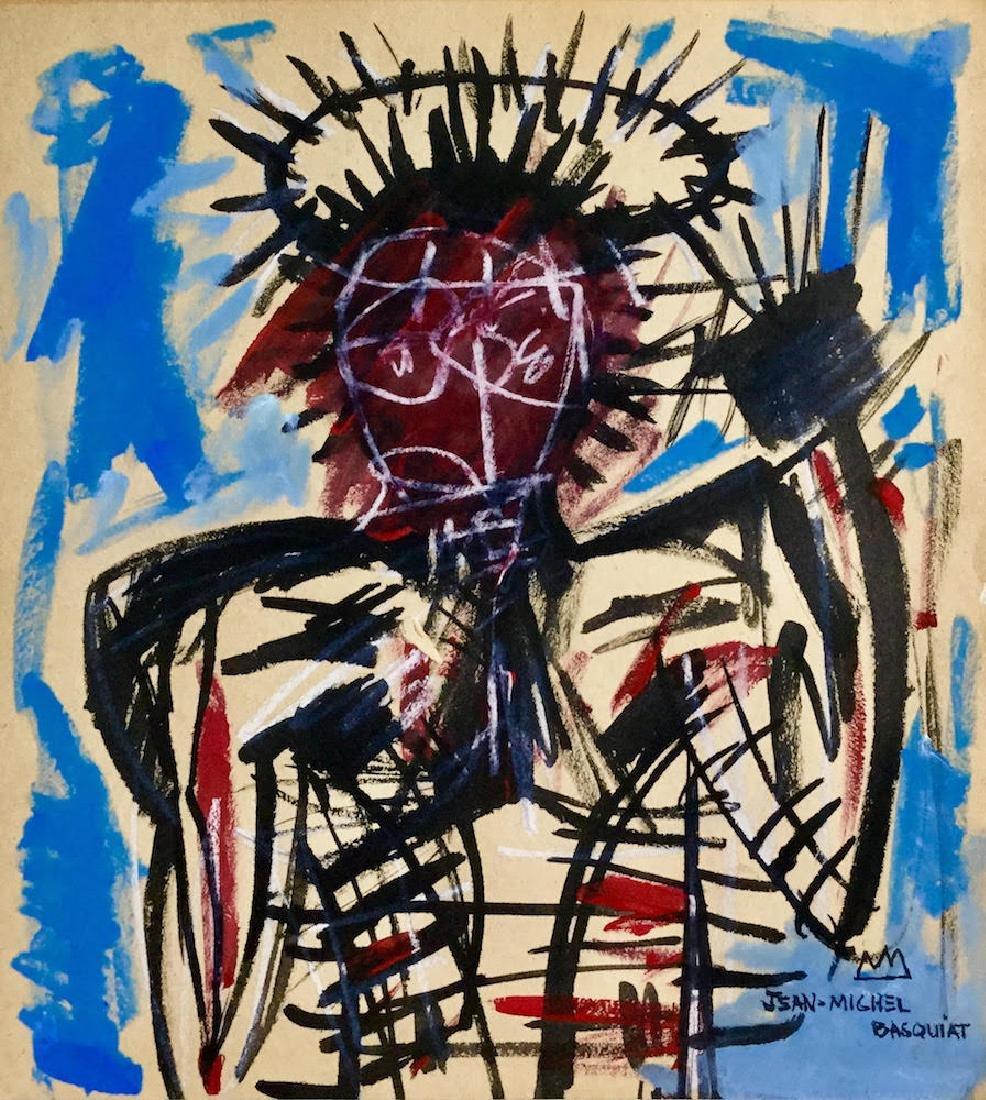 JEAN-MICHEL BASQUIAT (1960-1988) Attrib.