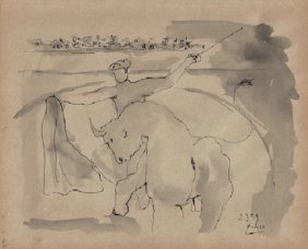 Pablo Picasso (1881-1973) Attrib.