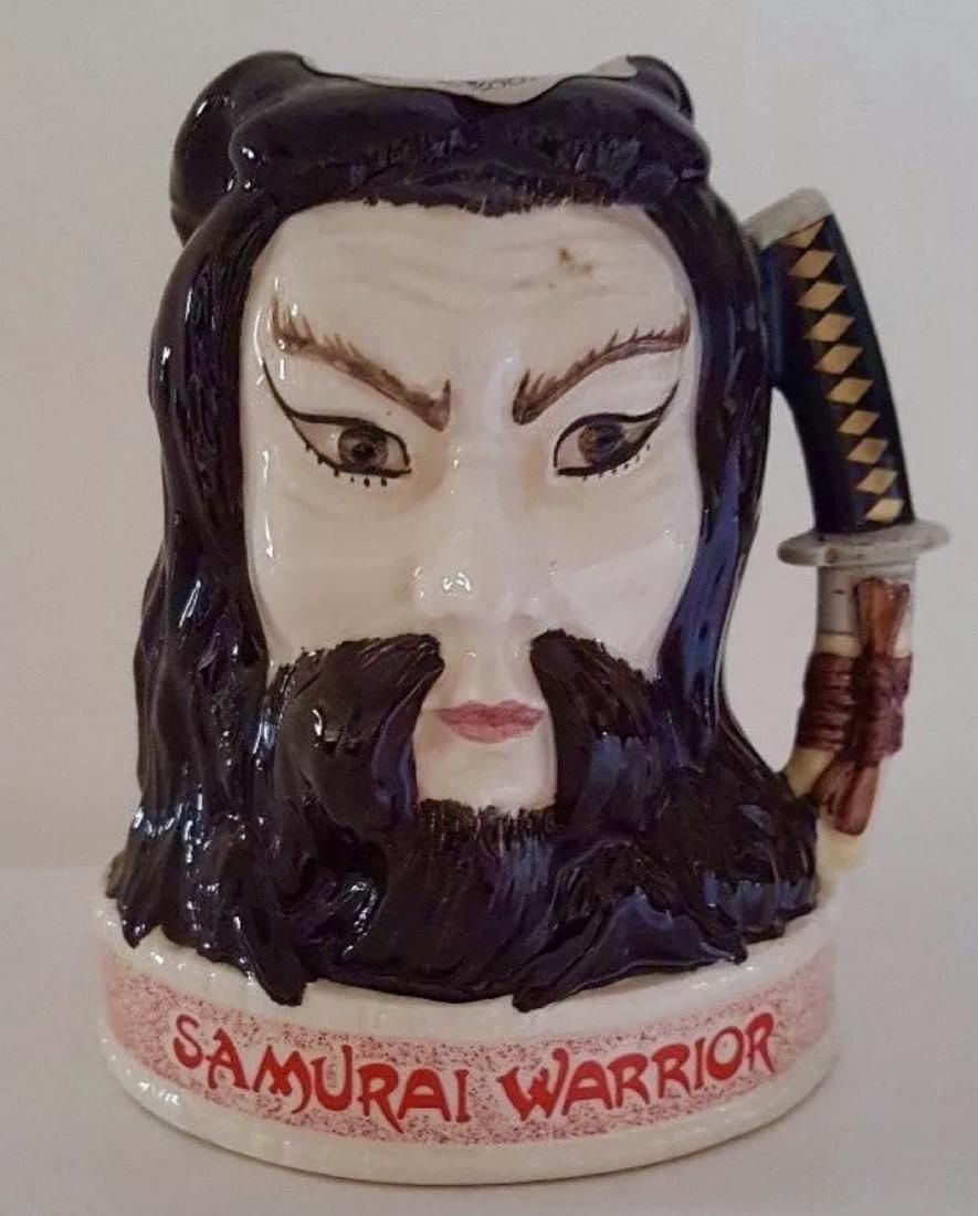 Rare ROYAL DOULTON Samurai Warrior Toby Jug