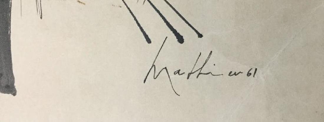 GEORGES MATHIEU (1921-2012) - 3