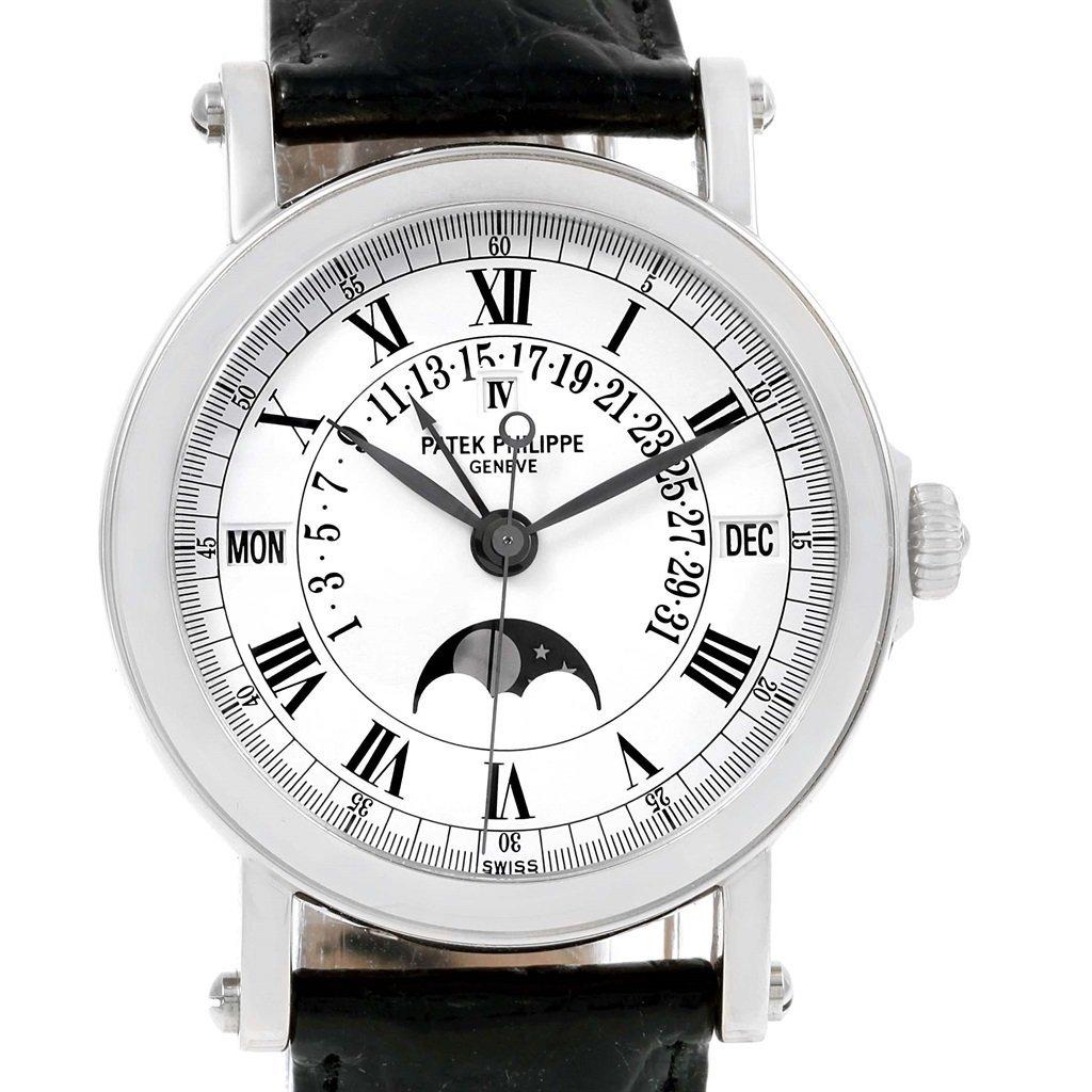Patek Philippe Perpetual Calendar Retrograde 18k W 5059